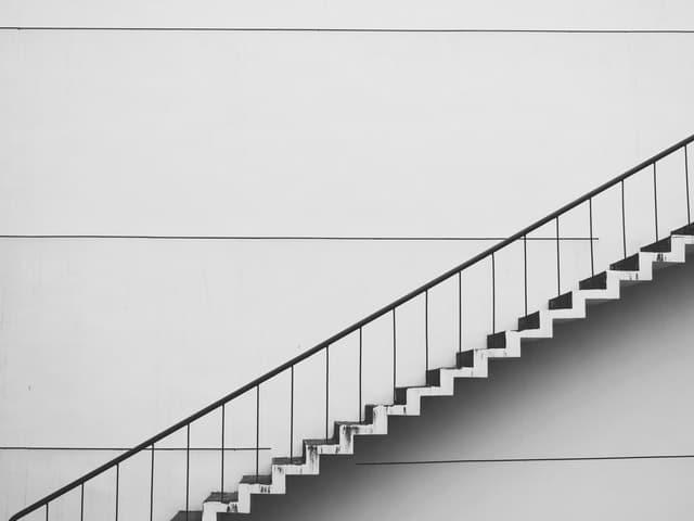 Une chose à la fois (Marches d'escalier)