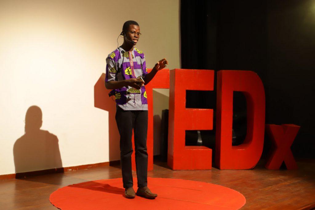 Justin Ahinon TEDx Cotonou
